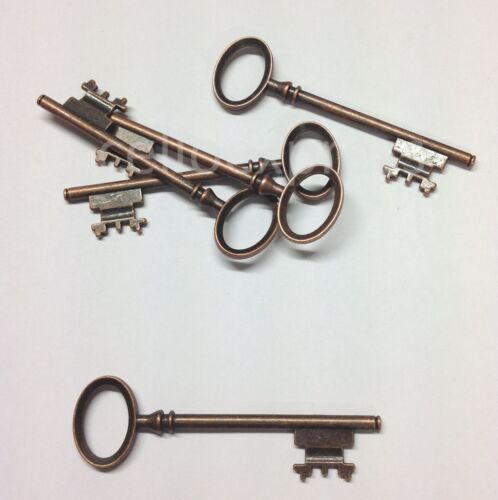 Vintage Santa Charms Parts Findings Steampunk Keys Choice of Colour /& Qty