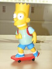 The Simpsons - Bart Simpson on skateboard - Tall bubble bath figure