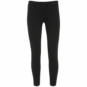LADIES-ANKLE-LENGTH-STRETCH-FIT-COTTON-LEGGING-IN-BLACK-amp-GREY-COLOURS