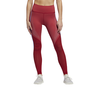 Details zu adidas Performance Damen Fitness Leggings Believe This Tight rot