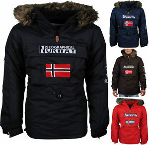 Giacca Giubbotto Uomo Geographical Norway Jacket Poncho Men Building