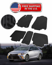 4 Pcs Floor Mats Carpet Nylon Black Fit 2012 2017 Toyota Camry All Weather L1 Fits 2012 Toyota Camry