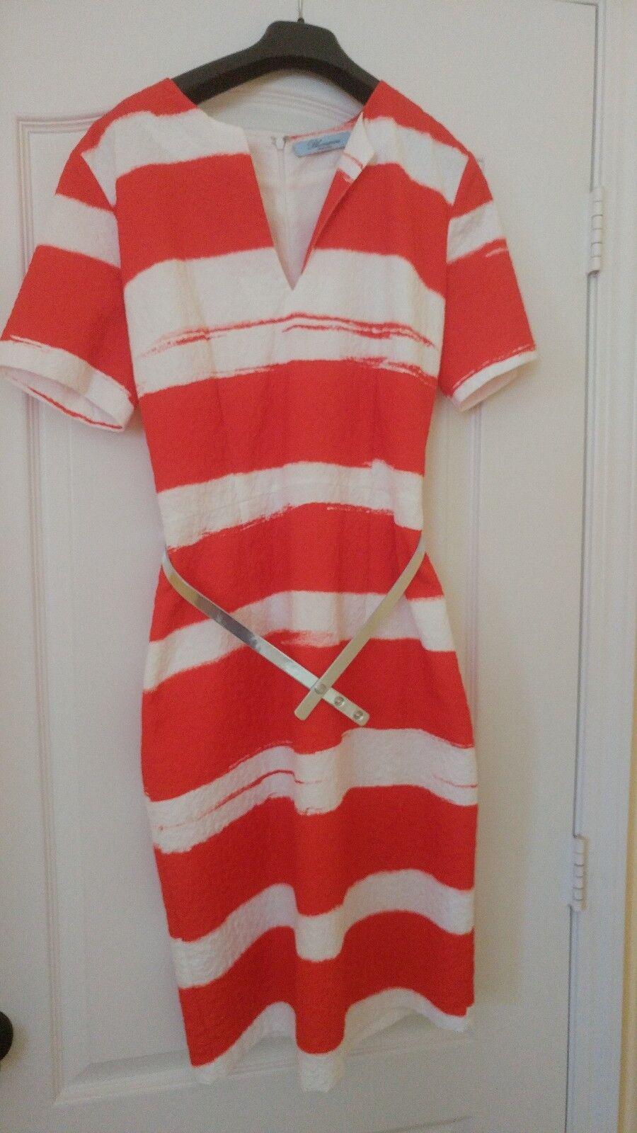 Red dress by Itailian designer bluemarine
