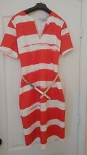 Red dress by Itailian designer Blumarine