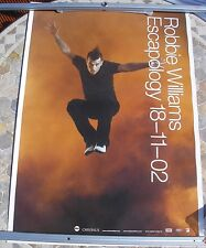 "ROBBIE WILLIAMS Escapology ""jump"" design 2002 tour poster 33 x 23  original"