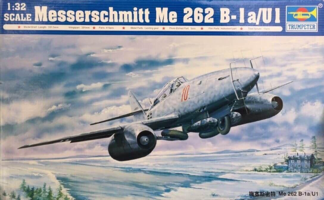 Trumpeter Messerschmitt Me 262 B-1 a U1 Ref 02237