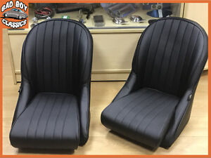 Image Is Loading Pair BB Vintage Classic Car Bucket Seats Low