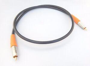 Câble numérique coaxial 1.0 m Belden 1694a CANARE vrai 75ohm RCA hautement spécifié