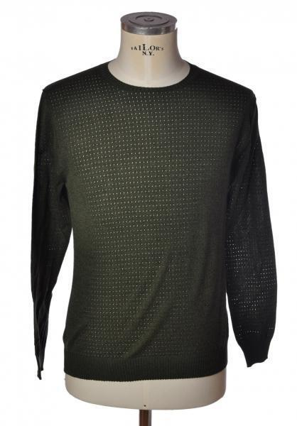 Hosio  -  Sweaters - Male - Green - 2238214A185913