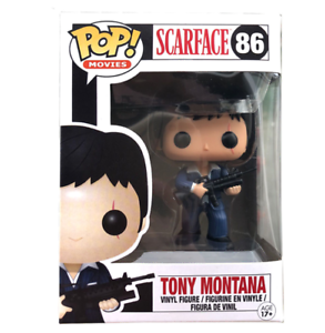 Funko Pop Tony Montana 86 Scarface Movie Collection Toy With Box
