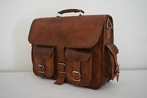 Leather Messenger Laptop 16x12
