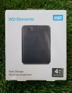 WD-Western-Digital-Elements-4TB-Portable-External-Hard-Drive-USB-3-0-New