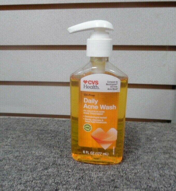 5 Cvs Health Ultimate Daily Face Wash 2 Salicylic Acid Acne Medication 6 78 Oz For Sale Online Ebay