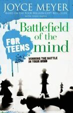 Battlefield of the Mind FOR TEENS a Christian book by Joyce Meyer FREE SHIPPING