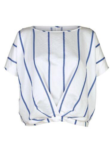 NEU!! Streifen-Bluse AMY VERMONT weiß-blau /%SALE/%