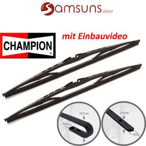 Champion-Balai-D-Essuie-Glace-D-039-Essuie-Glace-Kit-400mm-400mm-avec-2-Adaptateurs
