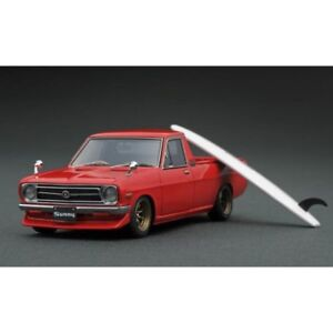 Ignition Model 1/43 Nissan Sunny Truck long B 121 Red Limited Model IG1396 NEUF