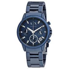 Armani Exchange Blue Dial Ladies Chronograph Watch AX4337