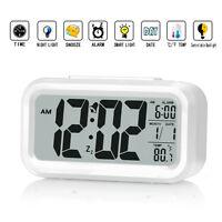Zhpuat 5.3 Digital Smart Alarm Clock - Hd Lcd Display - Time/date/temperature