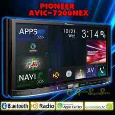 "PIONEER AVIC-7200NEX FLAGSHIP IN-DASH GPS AV RECEIVER 7"" WVGA DISPLAY CARPLAY"