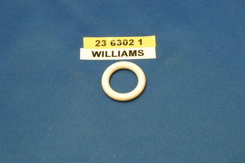 LOT DE 4 ELASTIQUES  BLANC 1 WILLIAMS 23-6302