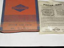 New Old Briggs Stratton Gas Engine Piston Rings 293508