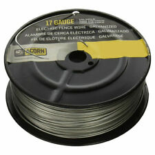 ACORN EFW1714 17 GAUGE 1//4 MILE LENGTH GALVANIZED ELECTRIC FENCE WIRE 8156283