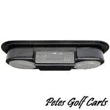 Golf Cart Speaker Pod with Radio Mount Universal Roof Top Mount