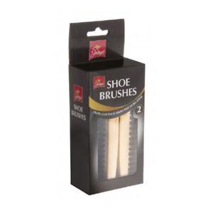 2-General-Purpose-Wool-Handle-Shoe-Brushes-Boot-Polishing-Shining-Brush