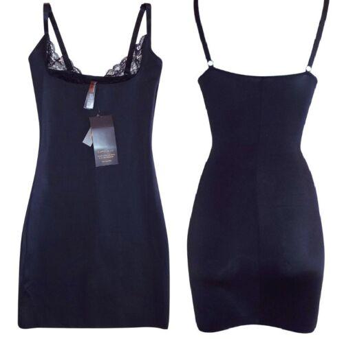 Ann Summers Shaping /& Lissage Firm Control Full Slip Portez votre propre soutien-gorge noir 8