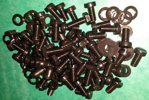 Black-Stainless-Full-Engine-Tinware-Screws-Kit-Air-Cooled-VW-Bay-Van-Beetle