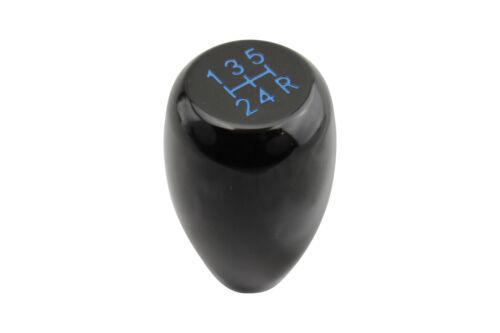 Noir T1 5 SPD BLUE Gear shift knob pour Toyota MR2 mk1 mk2 AW11 SW20 1984-1998