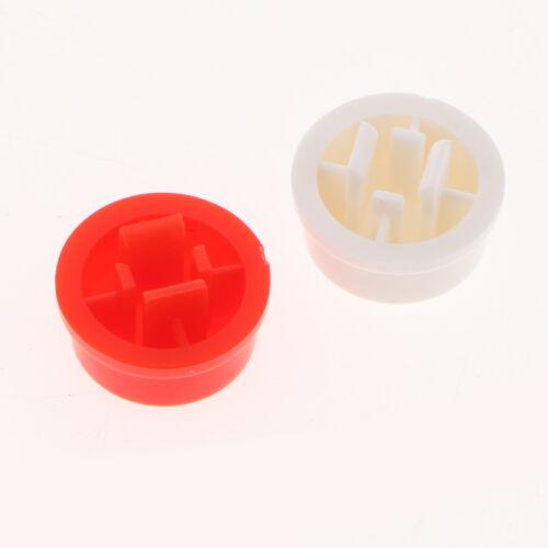 25Pcs Tact Tactile Push Button Momentary Mikroschalter mit Kappe für