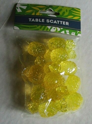 TROPICAL TABLE SCATTER  Pineapple  12 Pieces
