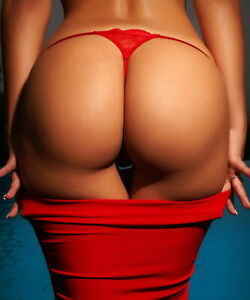 Beautiful-Fine-Art-Print-034-Red-Thong-034-8-x-10-Photo