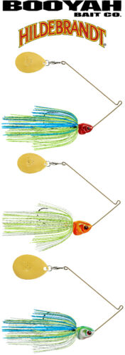 Select Color Details about  /Booyah Bait Covert Single-Colorado Bladed Spinnerbait BYCVS38GC