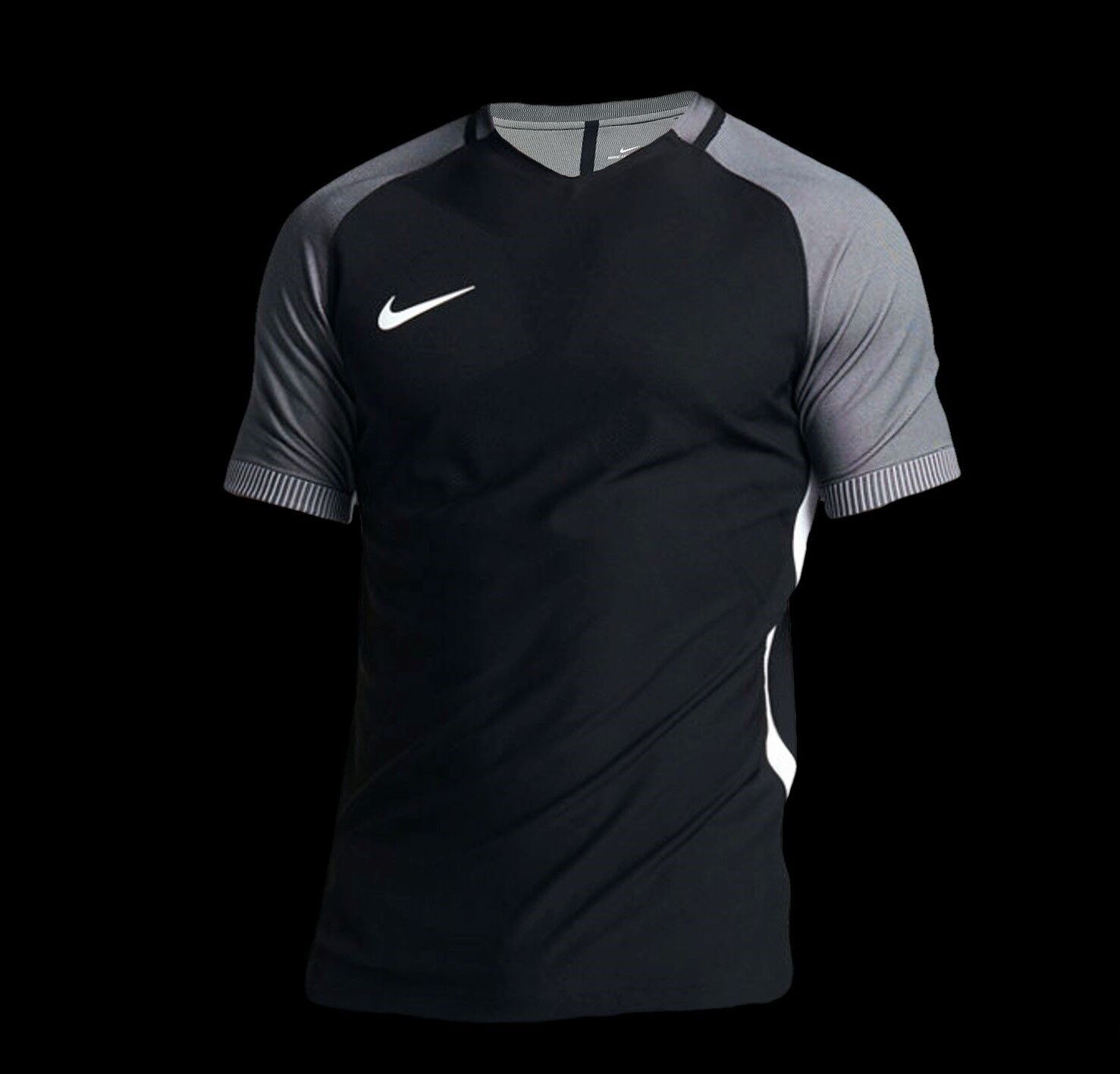 Nike Streifen Aeroswift Herren Fussball Top Model 725868-015 Msrp