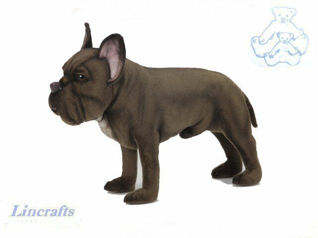 Hansa Standing Boxer Dog 2596 Soft Toy Puppy Sold by Lincrafts Established 1993