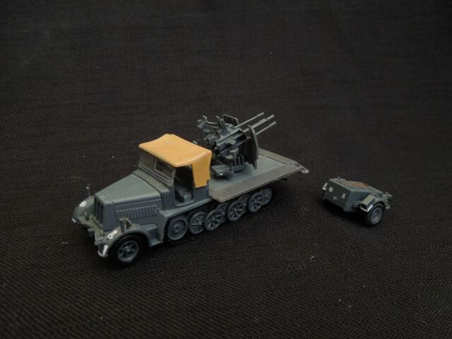 Sd.Kfz. 7/1 + Sd.Ah 51 trailer Diecast Amercom 1:72 Germany 1942