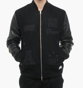 Originals About Superstar Dmc Wool Bomber Details M Run Jacket M64169 Rare Adidas Leather 54jA3LR