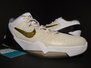 lowest price be9e7 a94bb Image is loading NIKE-ZOOM-KOBE-VII-7-SYSTEM-ELITE-HOME-