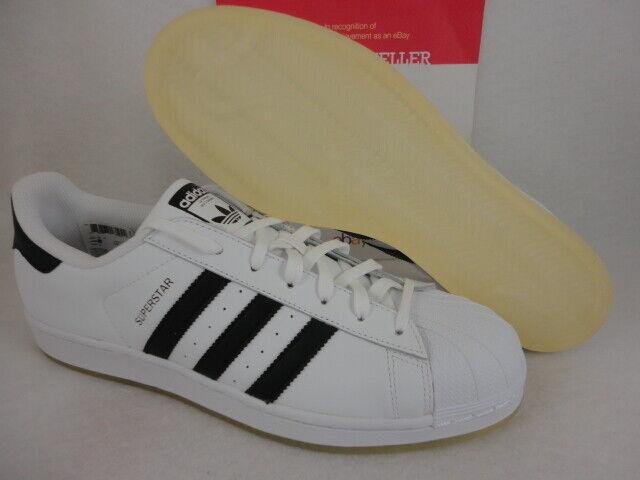 Adidas Superstar, White   Black   White, Ice Sole, B49794, Size 11.5