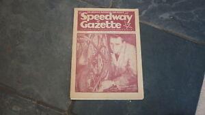OLD-MOTOR-RACING-MOTORCYCLE-MAGAZINE-SPEEDWAY-GAZETTE-APR-3-1948-RON-JOHNSON