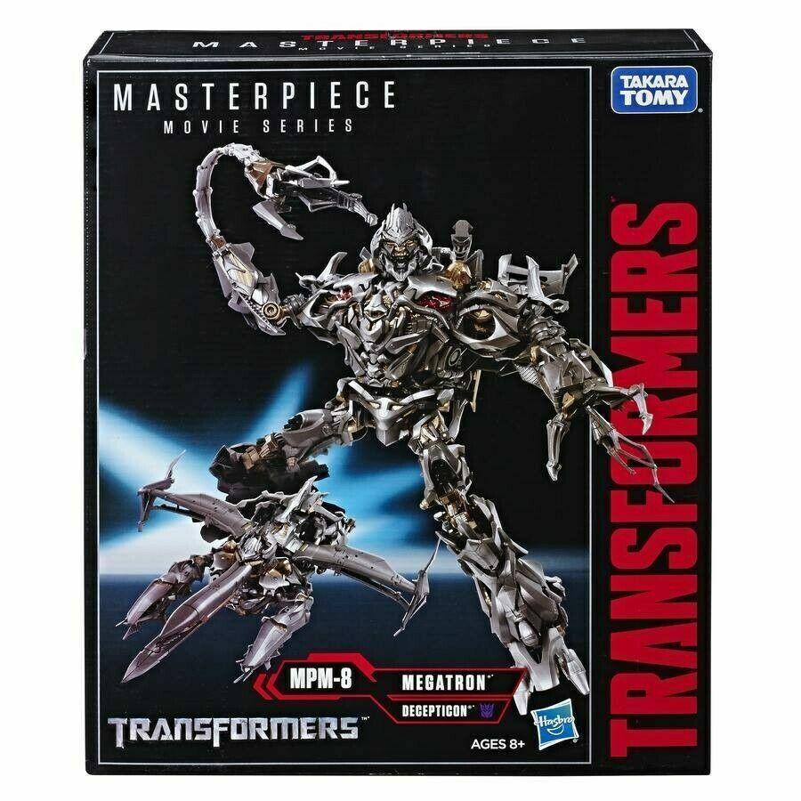 Transformers Masterpiece Film MPM-08 Megatron Takara USA Verkäufer (100% Echt