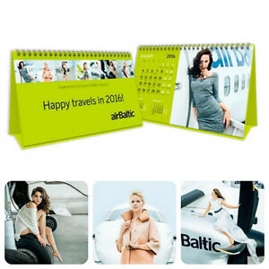 airbaltic latvian airlines desk calendar 2016 real fine stewardesses