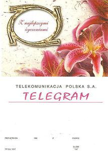 TELEGRAMME-POLOGNE-fleur-lys