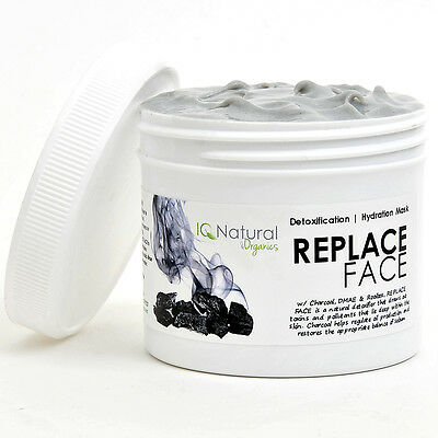 Spa Facial Mask Replace Hydration Detox Hyaluronic Acid Charcoal ACNE BLEMISH