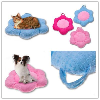 lovely Dog Puppy Pet Cat Bed Mat Soft Cushion Pet Dog Pad Futon House Warm cozy