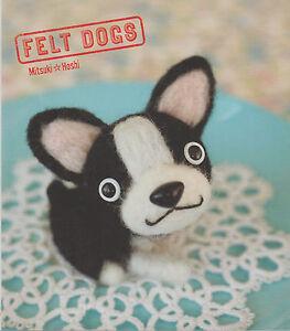 Charitable Livre Felt Dogs Mitsuki Hoshi Comment Fabriquer Peluches Chien La DernièRe Mode