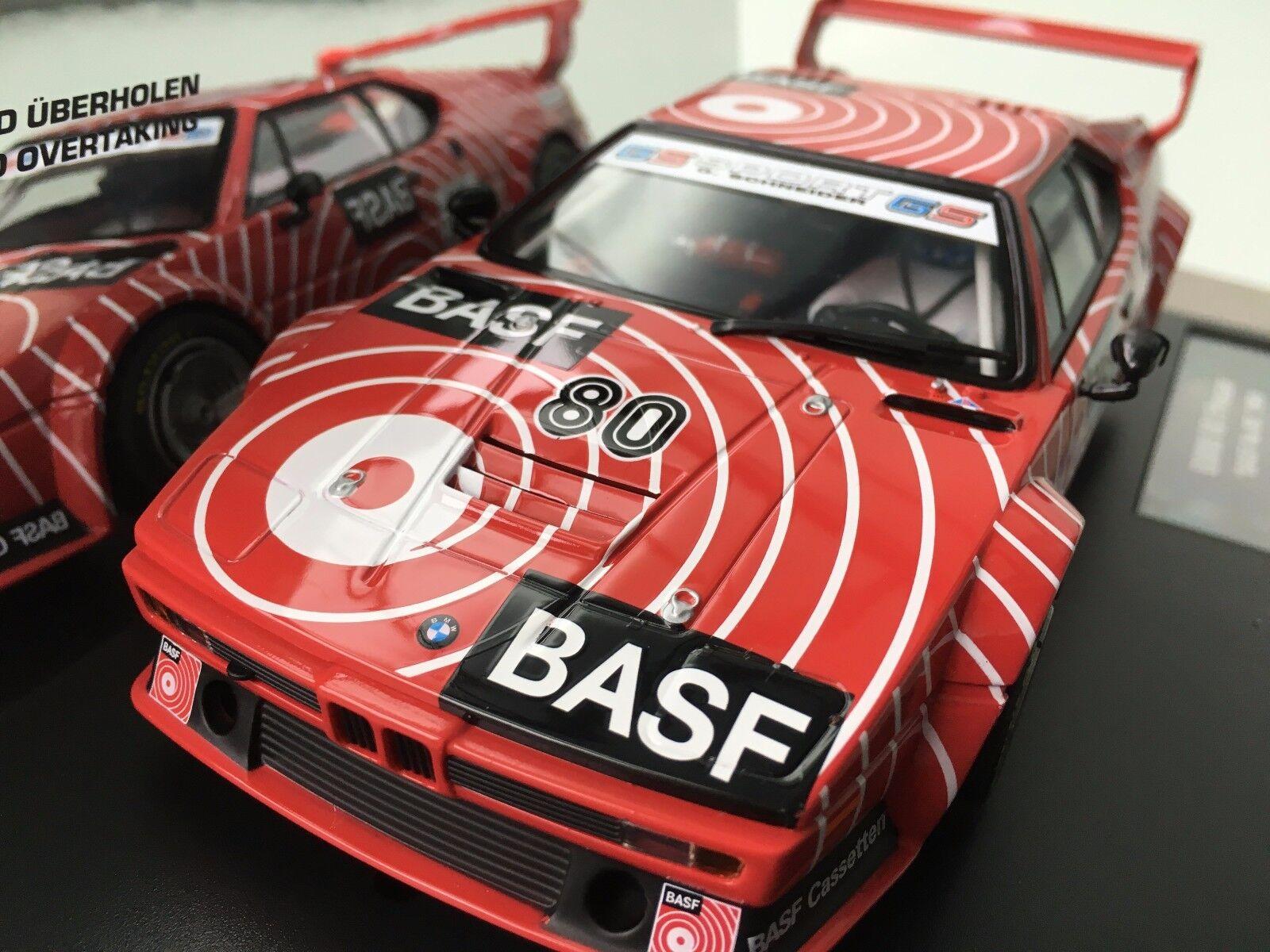 Carrera Digital Digital Digital 124 23821 BMW M1 Proauto   Basf N.80  , 1980 Nuovo Conf. Orig. 64625a